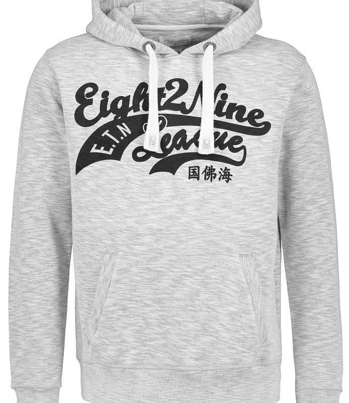 Eight2Nine pulóver férfi  light grey, M