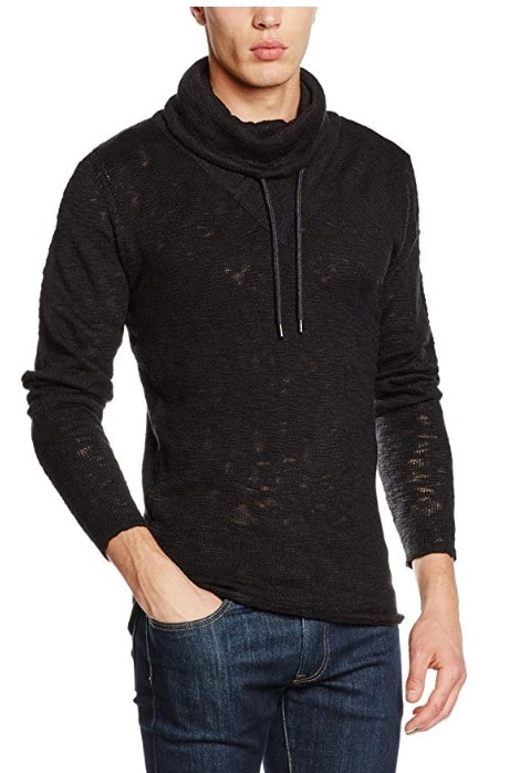 Sublevel pulóver férfi (Germany) black, L