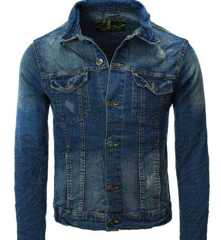 Authentic Style dzseki férfi (Germany) blue, S
