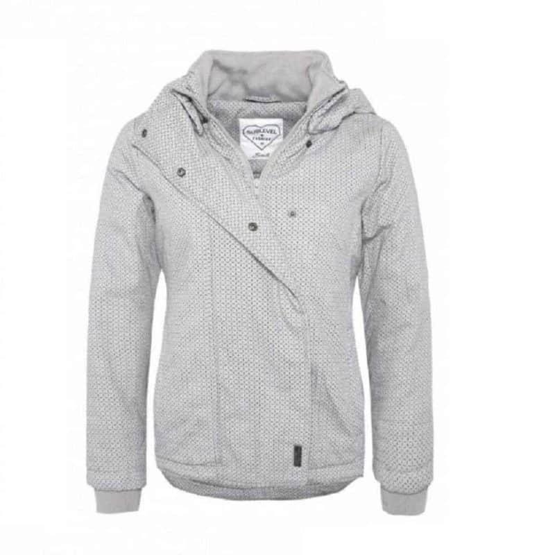 Sublevel kabát női light grey