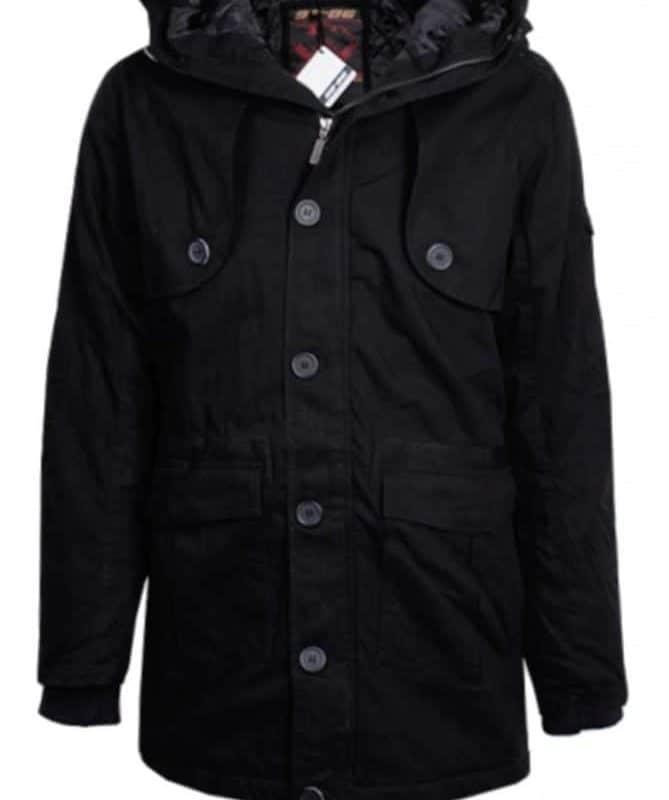 Authentic Style kabát férfi (Germany) H7039N44194A, black, M