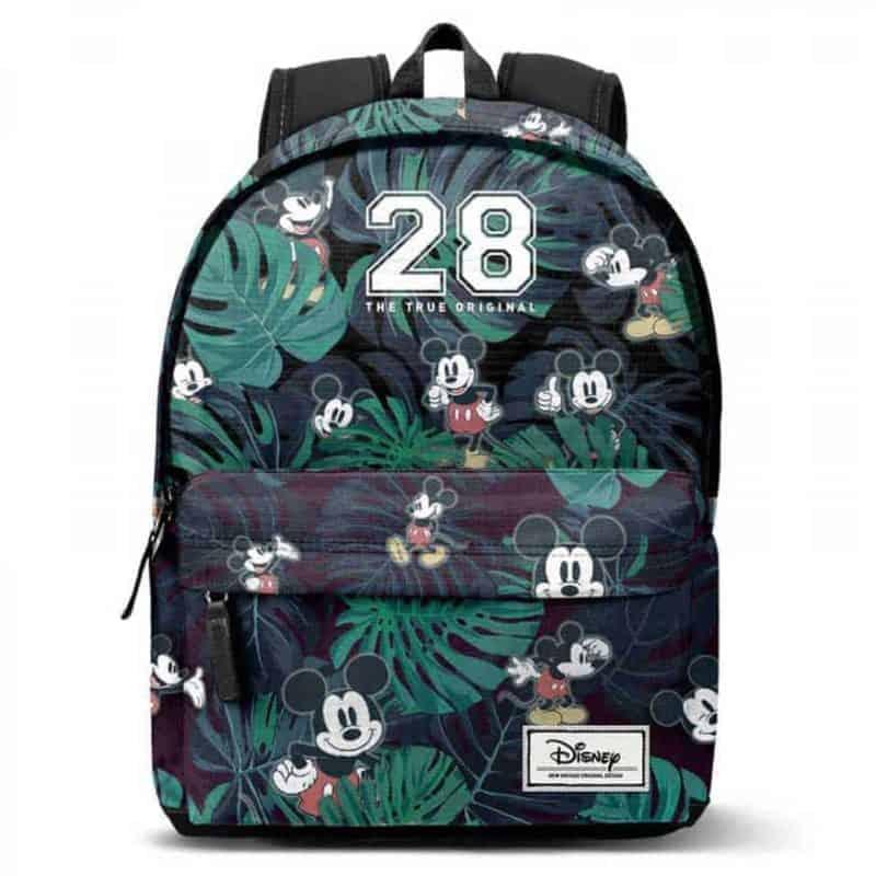 Disney Mickey 28 hátizsák-tolltartó szett 42cm