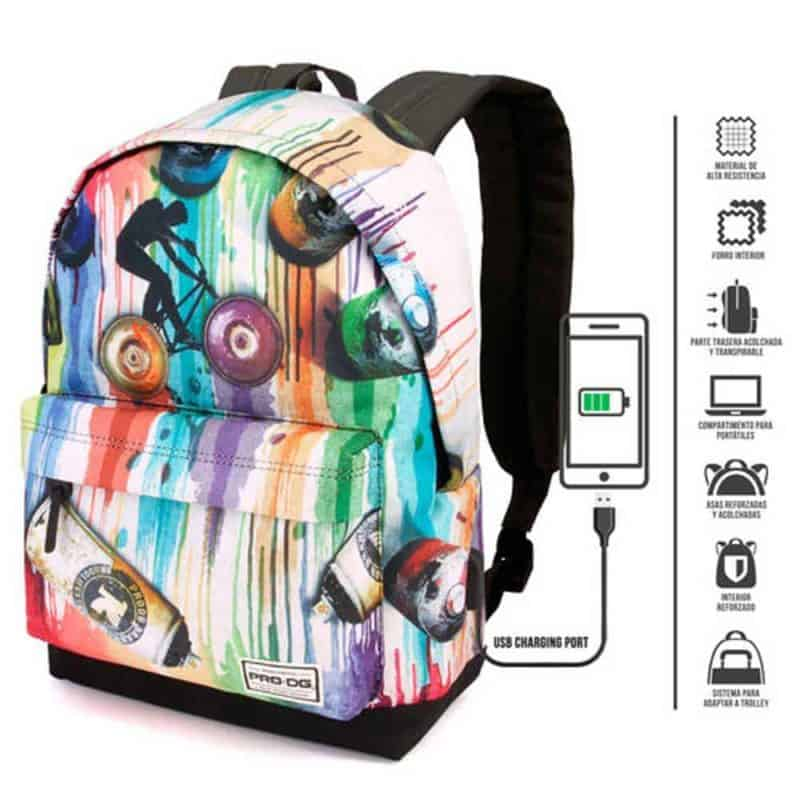 Pro DG Graffiti  hátizsák-tolltartó szett 42cm