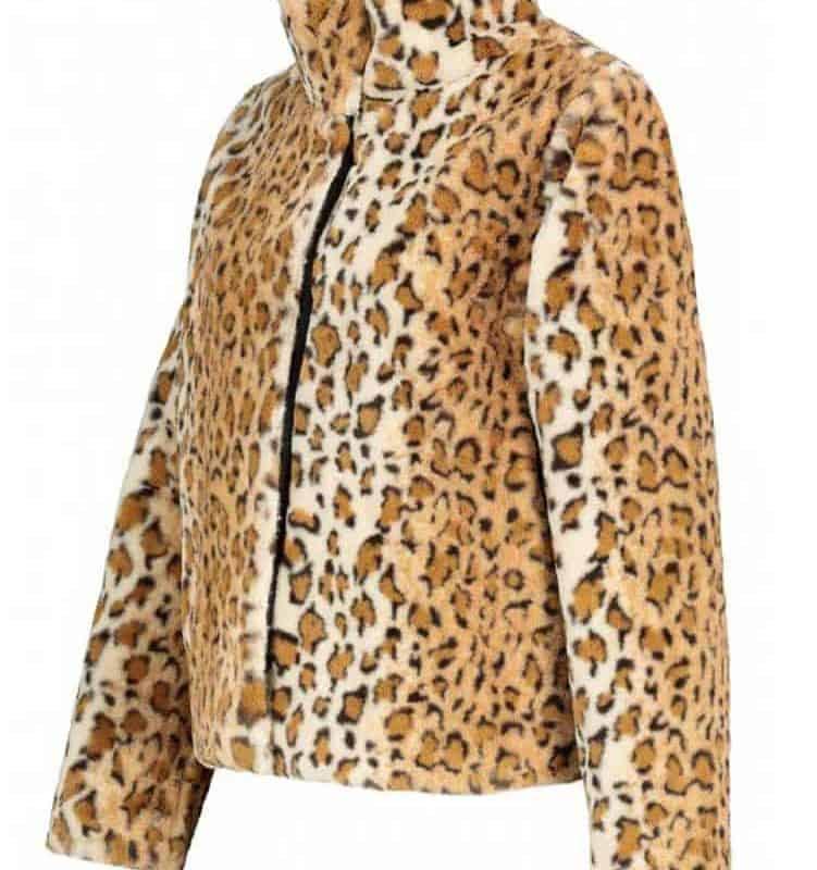 Sublevel rövid kabát női brown-beige