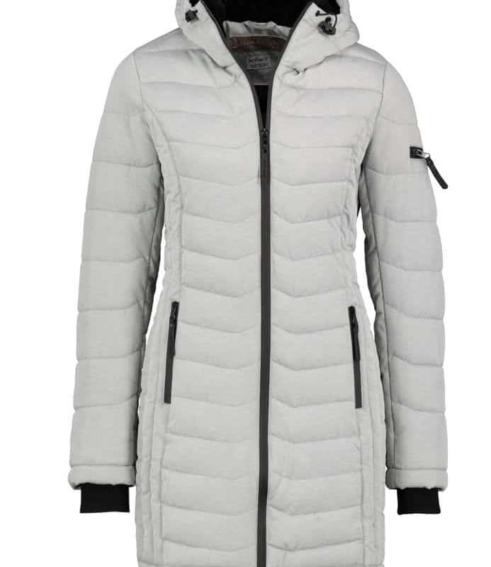 Fresh Made kabát női, light grey, M