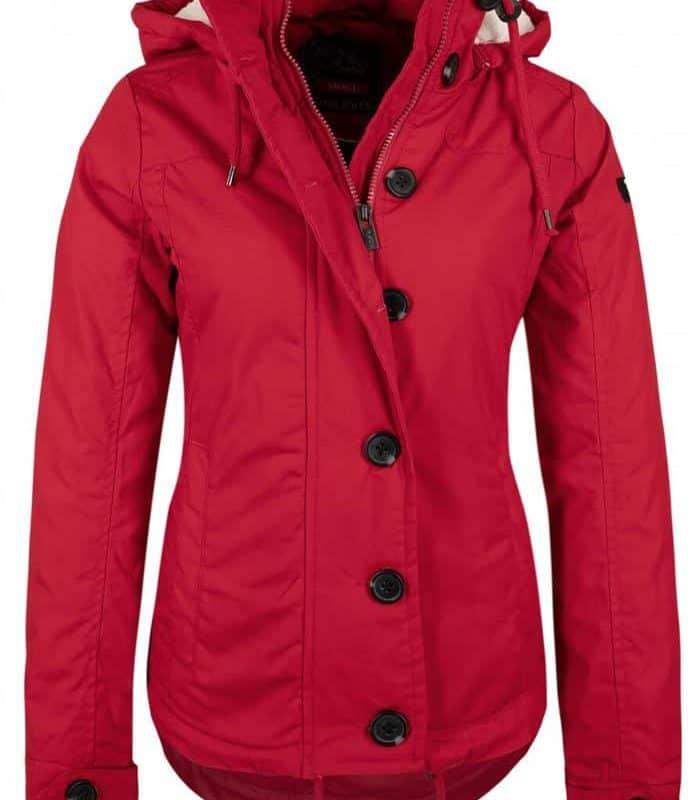 Sublevel kabát női canvas red, XS