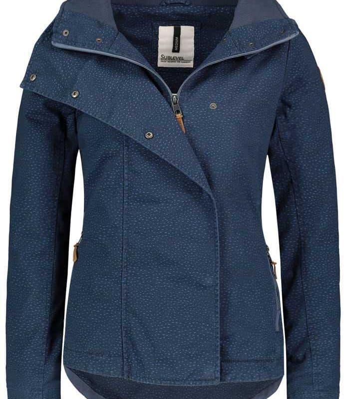 Sublevel kabát női marine blue XS
