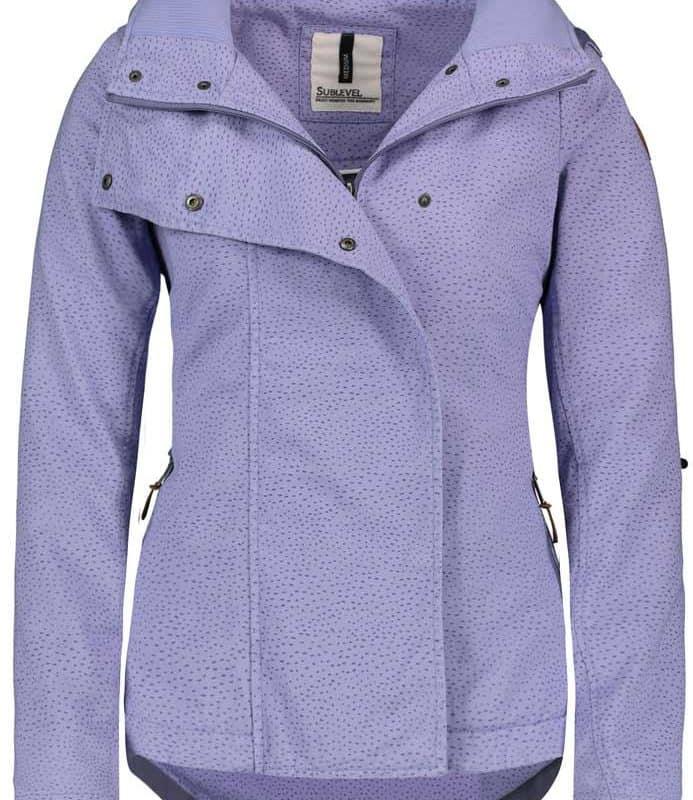 Sublevel kabát női organ lilac, L