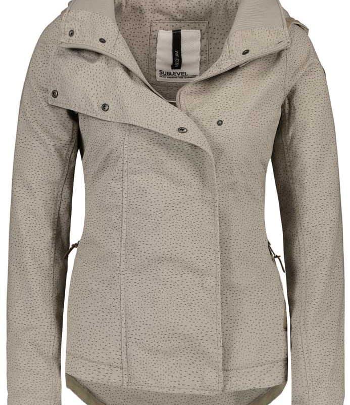 Sublevel kabát női middle brown L