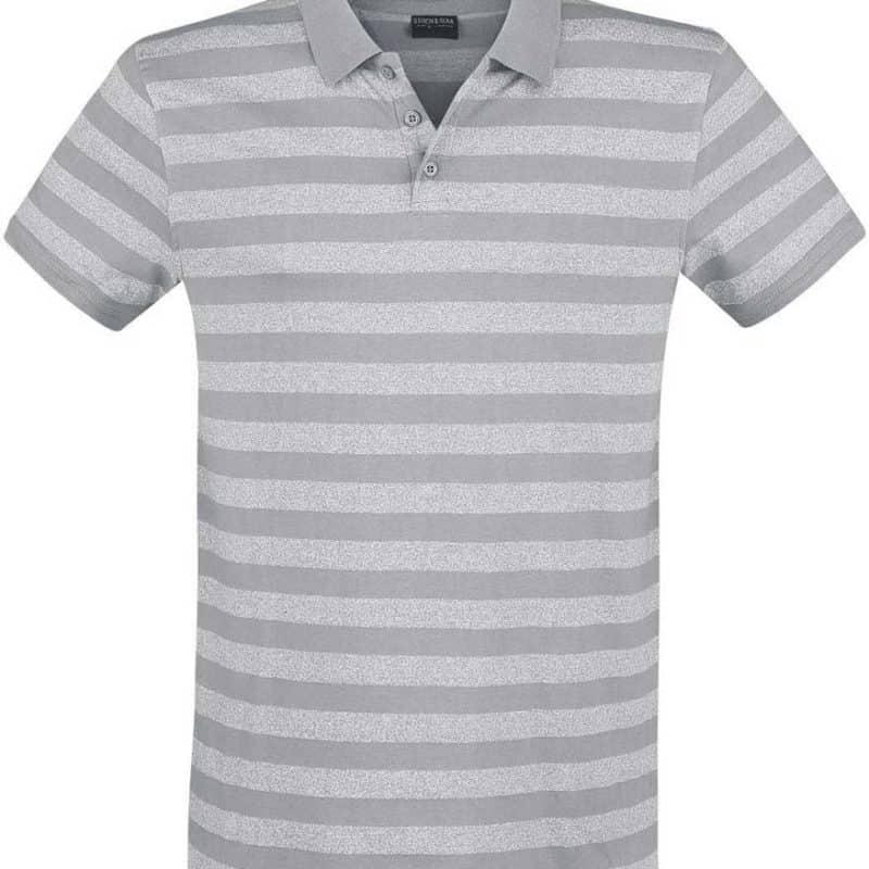 Stitch&Soul pólóing férfi light grey