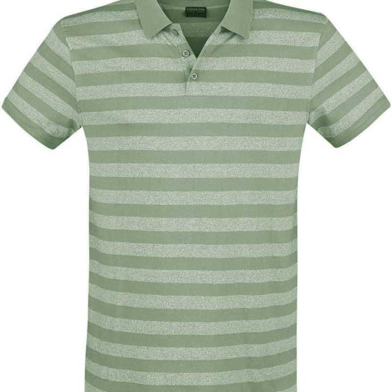 Stitch&Soul pólóing férfi middle green