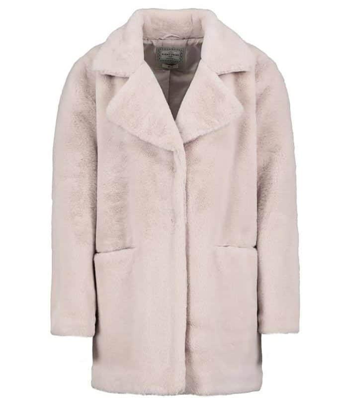 Eight2Nine kabát női plüss cream beige, L/XL