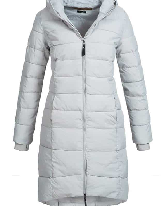 Eight2Nine kabát női extra hosszú, light grey, XL