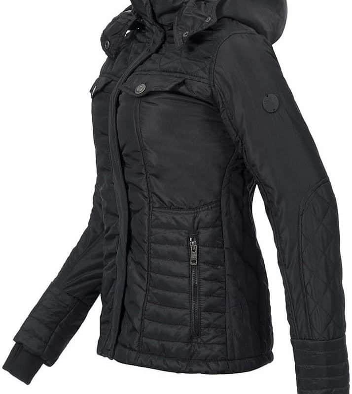 Stitch&Soul kabát női black