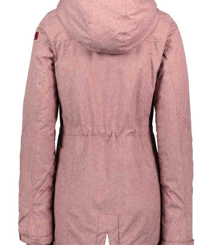 Sublevel kabát női dark rose, L