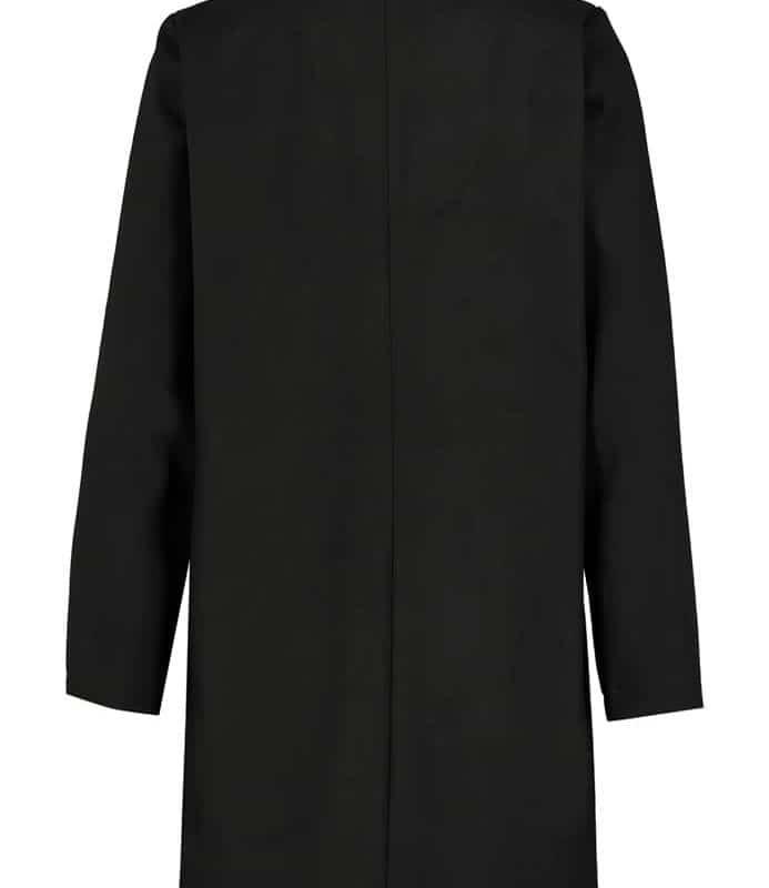Eight2Nine kabát női, szövet, gyapjú, black
