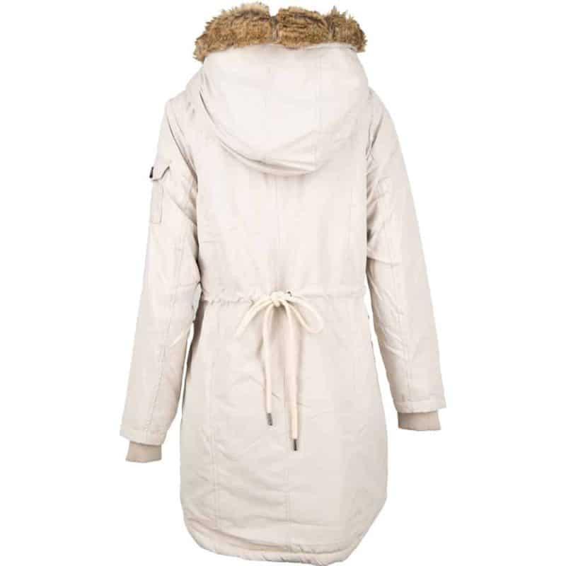 Eight2Nine kabát női microfaser, beige