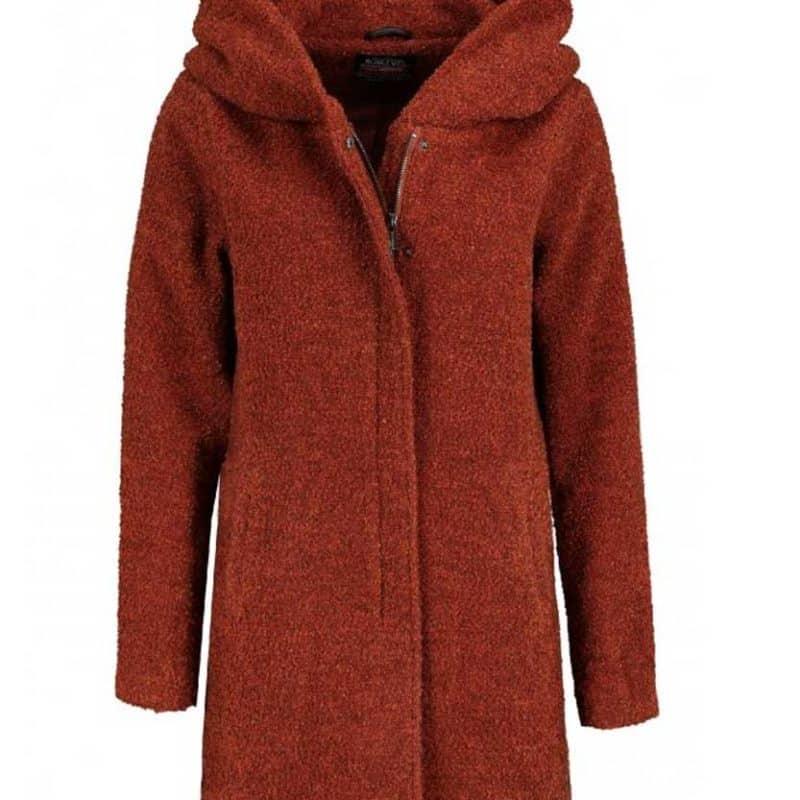 Sublevel kabát női boucle red-melange, L