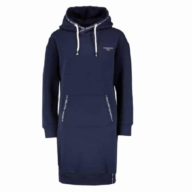 Eight2Nine pulóver női sweat dress, blue