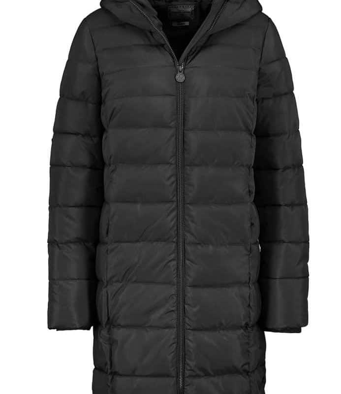 Eight2Nine kabát női extra hosszú, black