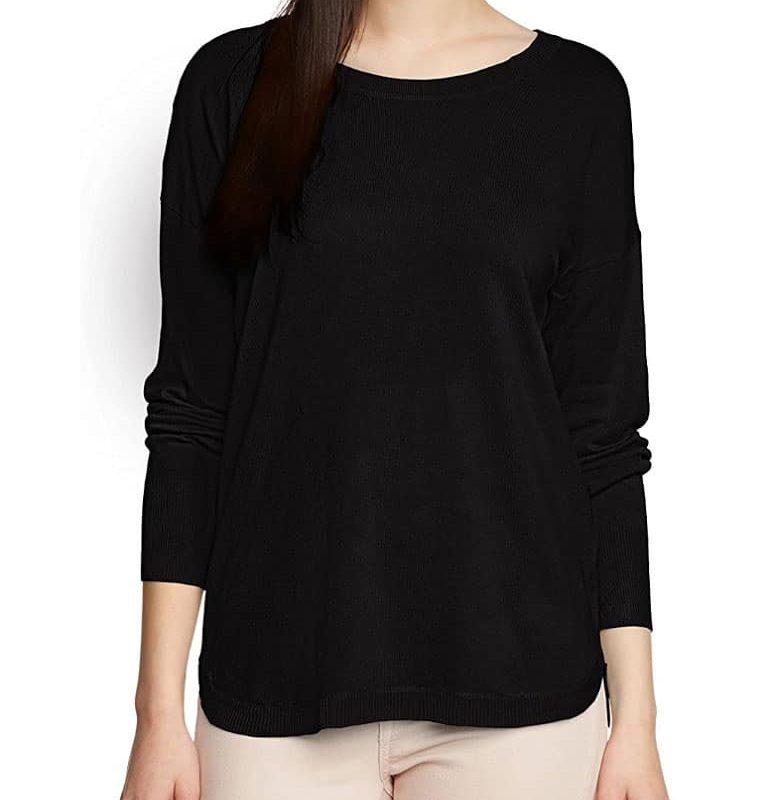 Fresh Made pulóver női vékony (Germany) black, XL