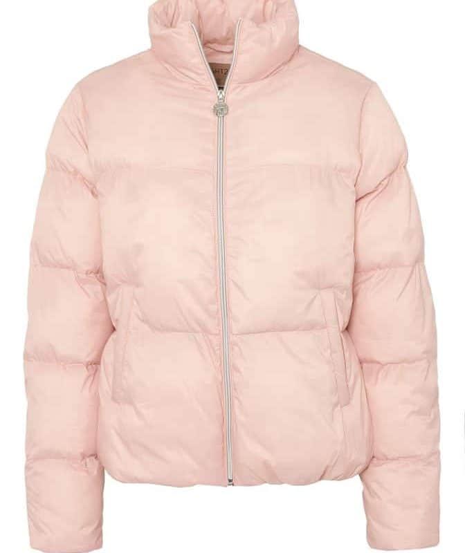 Eight2Nine kabát női steppelt dzseki light greyish rose