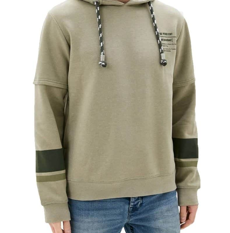 Sublevel pulóver férfi hoodie (Germany) light green, M