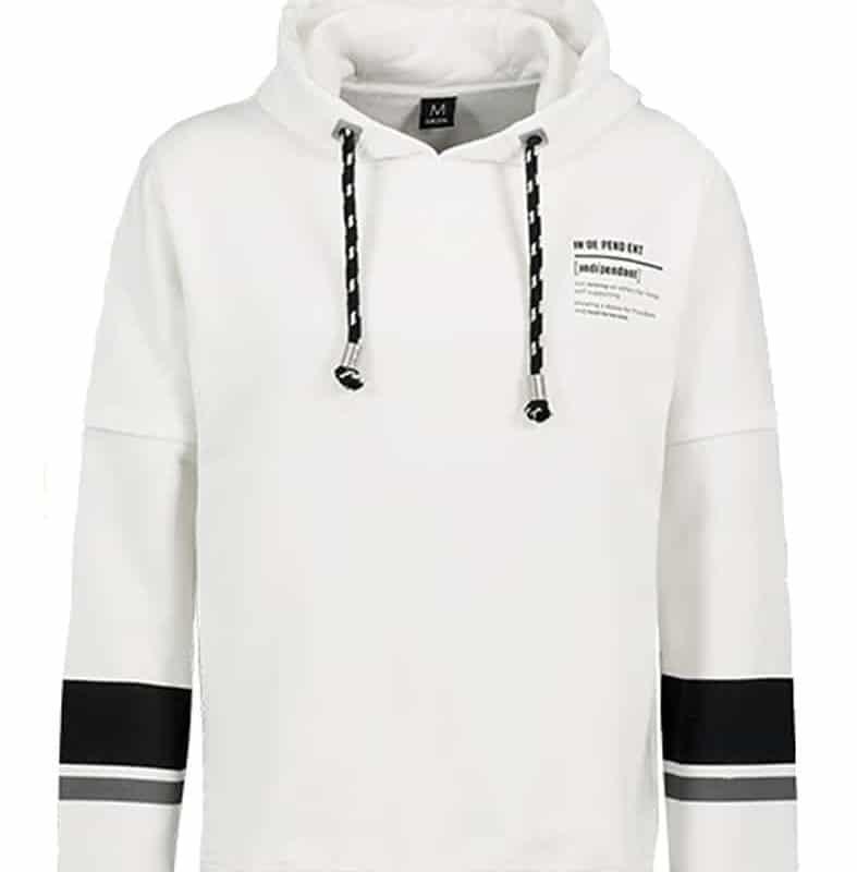 Sublevel pulóver férfi hoodie (Germany) white, M