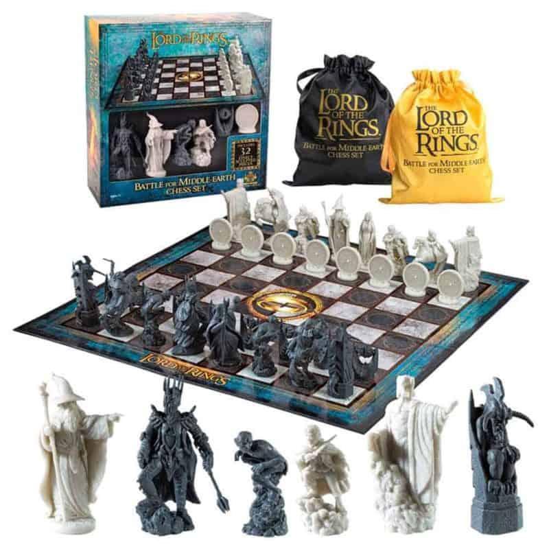 Gyűrűk Ura sakk készlet The Lord of the Rings Battle for Middle-Earth