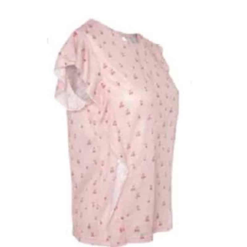 Fresh Made póló női (Germany) allover print, light rose, L