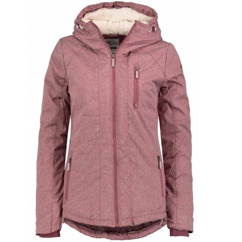 Sublevel kabát női dark rose