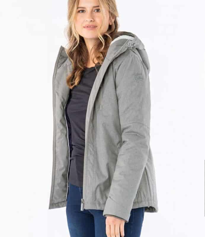 Sublevel kabát női, light grey