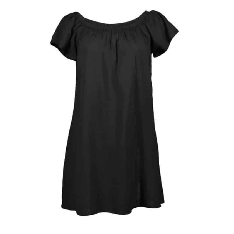 Fresh Made ruha női mini, carmen, black