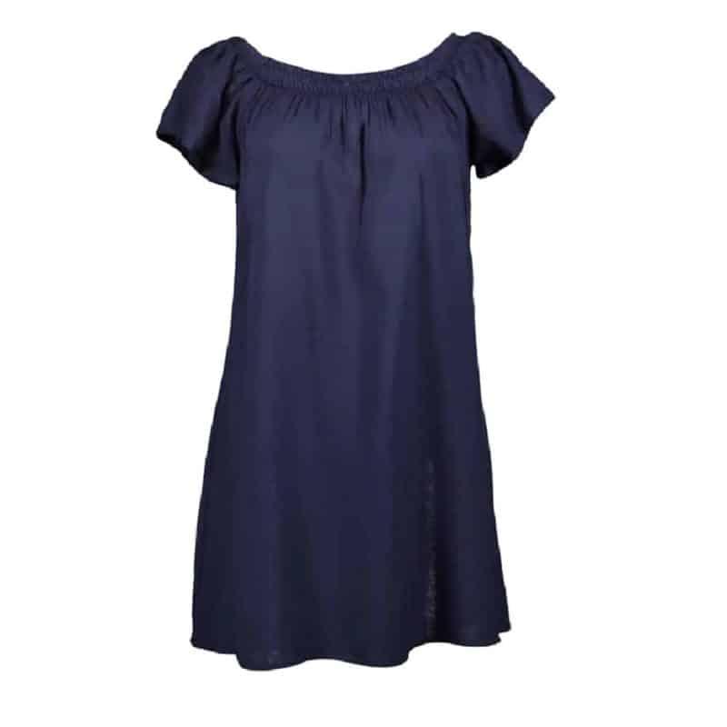 Fresh Made ruha női mini, carmen, dark blue