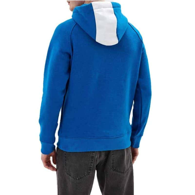 Sublevel pulóver férfi hoodie (Germany) middle blue, L