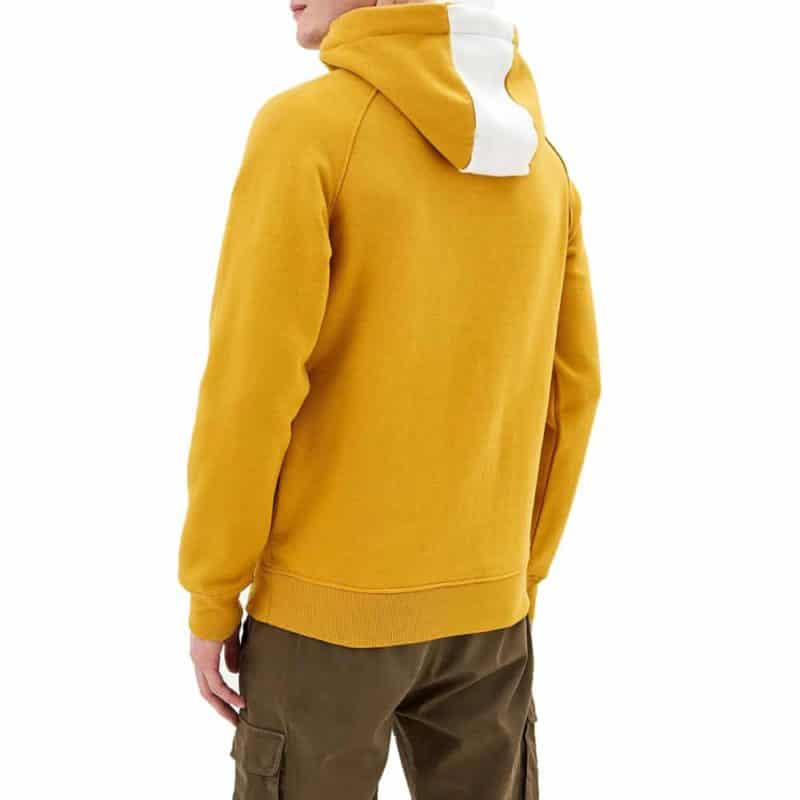 Sublevel pulóver férfi hoodie (Germany) dark yellow, L