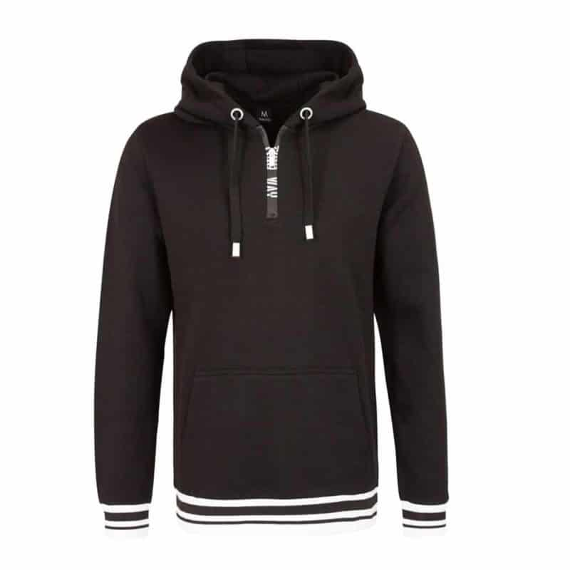 Sublevel pulóver férfi hoodie (Germany) black, L