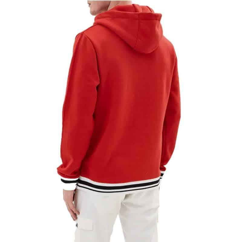 Sublevel pulóver férfi hoodie (Germany) bright red, XXL