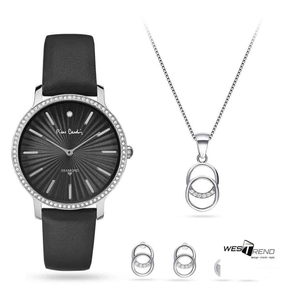 Pierre Cardin óra-ékszer ajándék szett PCDX8383L22