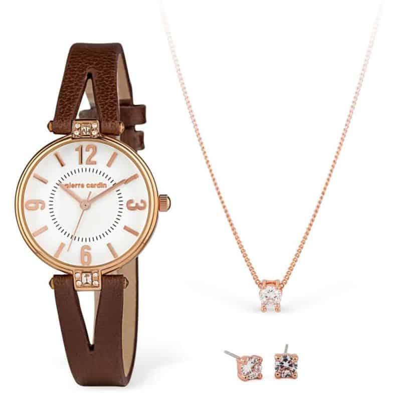 Pierre Cardin óra-ékszer ajándék szett PCX7497L301