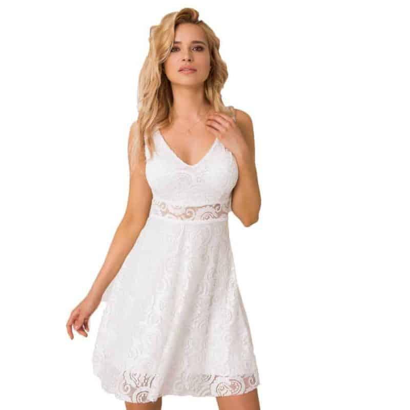 Sublevel csipke ruha női, white, L/XL