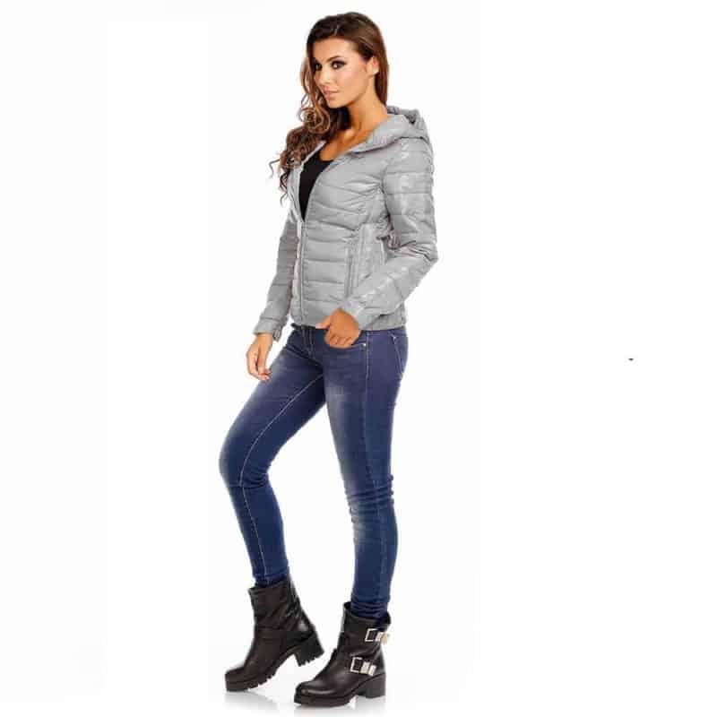 Sublevel dzseki női steppelt, middle grey, XL