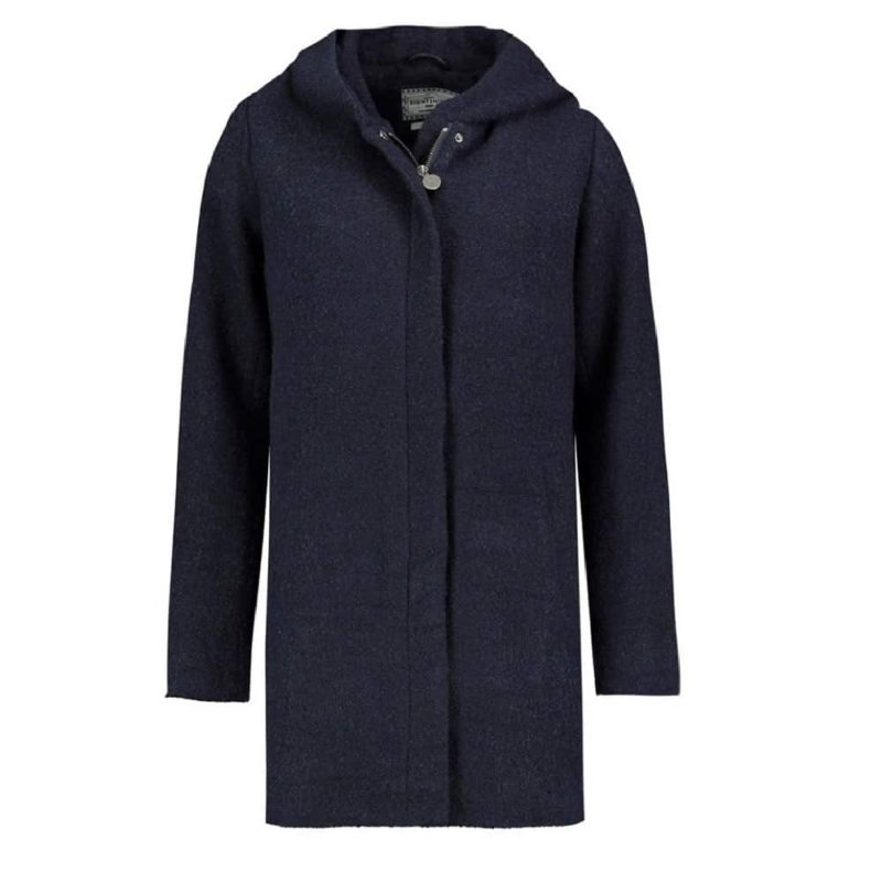 Eight2Nine kabát női, boucle, dark blue, S