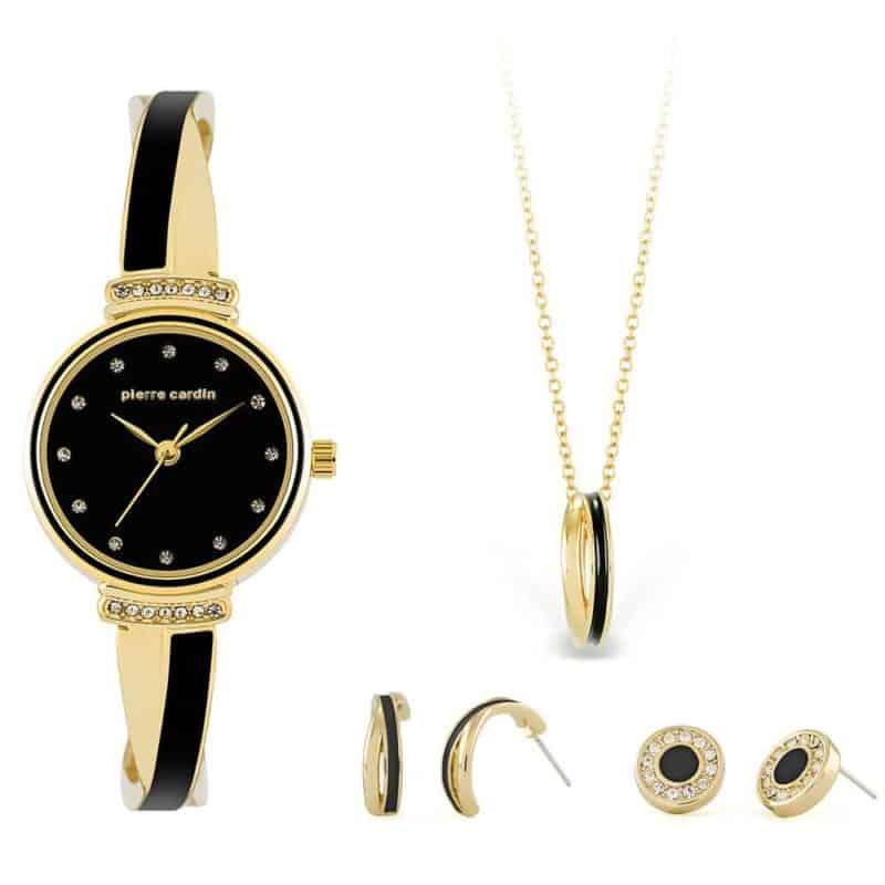 Pierre Cardin óra-ékszer ajándék szett PCX6855L297