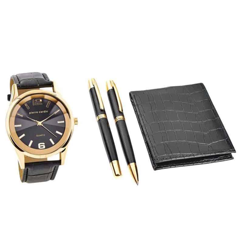 Pierre Cardin ajándék szett óra pénztárca golyóstoll PCX7870EMI férfi