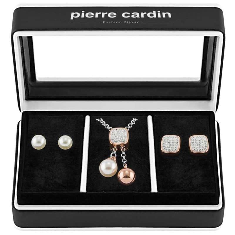 Pierre Cardin ékszer szett nyaklánc fülbevaló PXX7405 női